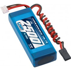 LRP VTEC LiPo 2500 RX-Pack 2/3A Straight – RX-only – 7.4V