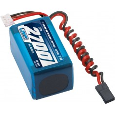 LRP VTEC LiPo 2700 RX-Pack 2/3A Hump – RX-only – 7.4V
