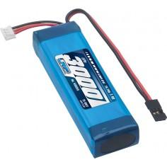 LRP VTEC LiPo 3000 TX-Pack Sanwa M12/ MT-4/Exzes-X/SD-10G – TX-only – 7.4V