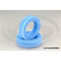 1:10 Offroad Reifeneinlage 2WD -Front- hart, schmal, blau (2)
