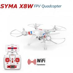 SYMA X8W 490mm, 2.4Ghz dronas su FPV kamera, RTF