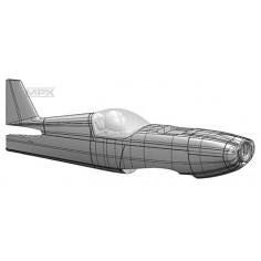 224330 Rockstar fuselage with sticker