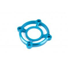 CNC aluminum alloy fan fix cover blue