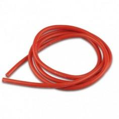 HM 2.0mm2, 14AWG silikoninis ypač lankstus laidas 1m raudonas