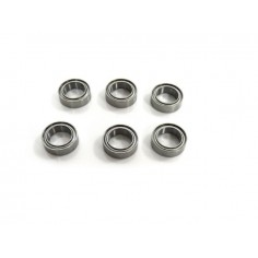 Bearings 8x12x3,5 (6 pcs)