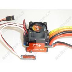ZTW 60A bešepetėlinis reguliatorius 1:10, 1:12 mąstelio auto modeliams