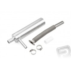 Muffler complete DLA 58 and 116