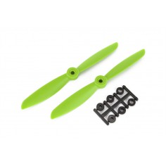 Propellers HQ 6x4,5 CW 1 pair (green)