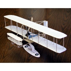 "1903 Wright flyer 3/4"" scale kit lazer cut"