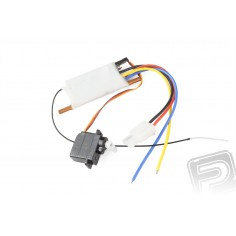Offshore Lite Warrior - elektronic (ESC, RX 2,4GHz, servo)