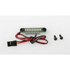 JR065/5 10LED Rx Bat.Indicator 5cells