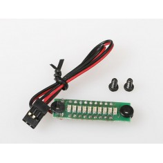 JR065/4 10LED Rx accu 4 cells indicator