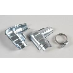 Metal coating for standard plug cap, 1pce.