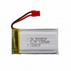 Syma X5H LI-PO 1300mAh 3.7V 25C padidinto talpos akumuliatorius