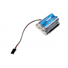 6.0V 2500AA ENELOOP Sanyo RX 5cell. receiv.pack