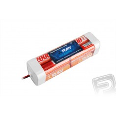 9.6V 2000AA Long RAY TX 8cell. transc.pack