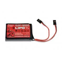 Senderakku flach LiPo 1S2P/6000 3,8V TX, 27Wh