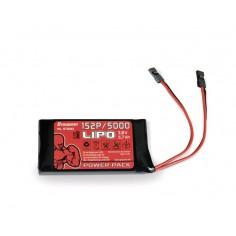 Senderakku flach LiPo 1S2P/5000 3,8V TX, 21Wh