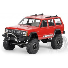 """1992 Jeep Cherokee Clear Body for 11.8"""" (300mm) Wheelbase Scale Crawlers"""