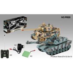 UF Leopard tankų modelių komplektas 1:24 RTR