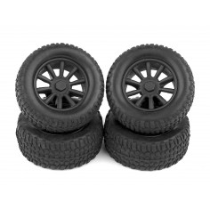 SC28 Wheels and Tires, mounted