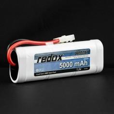 Redox 5000mAh/7.2V NiMh akumuliatorius su Tamiya jungtimi