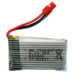 Syma X5H LI-PO 600mAh 3.7V 25C akumuliatorius