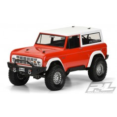 "2009 Jeep Wrangler Rubicon Clear Body for 12.0"" (305mm) Wheelbase Scale Crawlers"