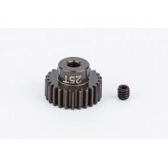 FT Aluminum Pinion Gear, 25T 48P, 1/8 shaft