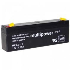 Multipower Pb-Akku MP2,2-12
