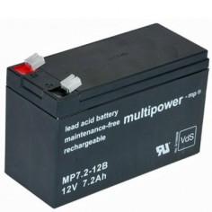 Multipower Blei-Akku MP7,2-12B