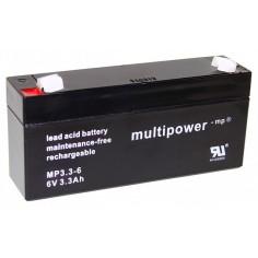 Multipower Pb-Akku MP3,3-6V