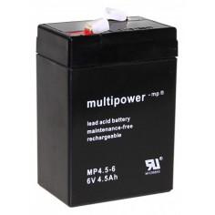 Multipower Pb-Akku MP4,5-6V