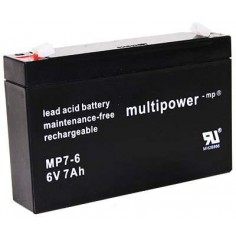 Multipower Pb-Akku MP7,0-6V