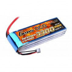 Li-Po 3300mAh / 11.1V 25C (50C max) GensAce akumuliatorius