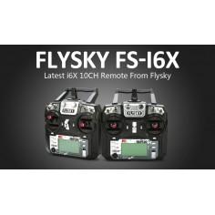 Flysky FS-i6X 2.4G 10CH AFHDS siųstuvas + FS-iA6B imtuvas