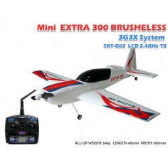 SKYARTEC Mini Extra 300 Brushless 2.4Ghz 550mm, RTF