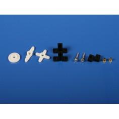 6327 Micro Horn+Hardware Set HS-60/81/85/D85MG