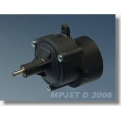 "8011 Gearbox ""400"" STD 4,1:1, Pinion wheel dia.2,3mm"