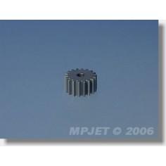 8080 Pinion wheel 18 teeth, dia.2,3mm for 3,33:1, modul 0,5
