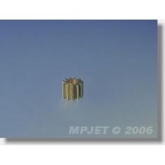 8203 Pinion wheel 9 teeth, dia.2mm modul 0,5, for MPJ 8202