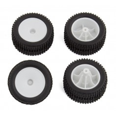 RC28T Wheels and Tires, mounted