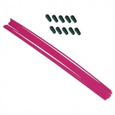 Antenna rod pink (10 pcs.)