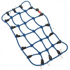 Luggage & safety net blue 190x100mm