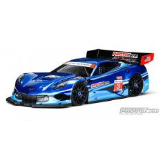 Chevrolet Corvette C7.R Clear Body (GT1) for 1:8 GT (Short Wheelbase)