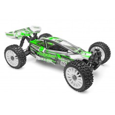 1/8 RTR Brushed Buggy SL Green (7,4V NiMH 1800mAh + USB charger)