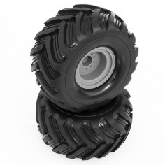 Glued Front Tyres w/rims