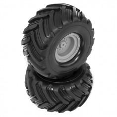 Glued Rear Tyres w/rims