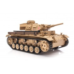 RC tank 1:16 Tauch PANZER III Ausf. H with Smoking/Sound