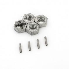 MT-Twin Aluminium alloy wheel hub hex (x4)